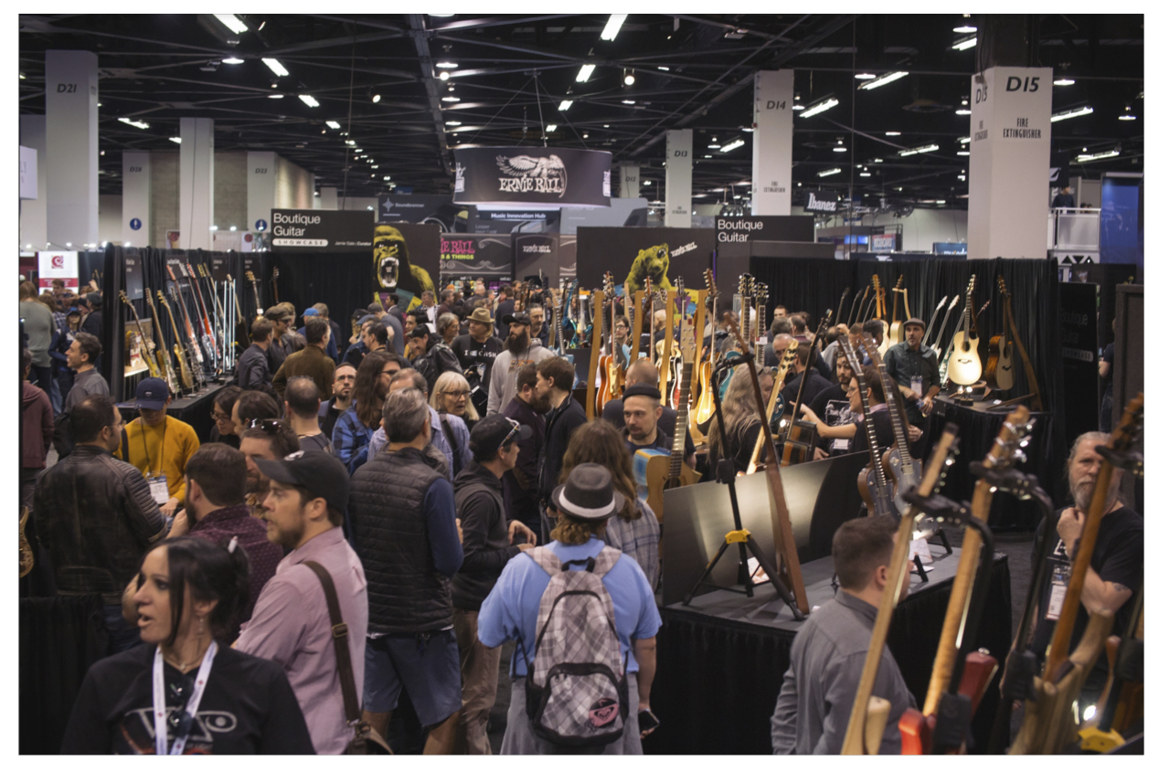 NAMM-Crowd